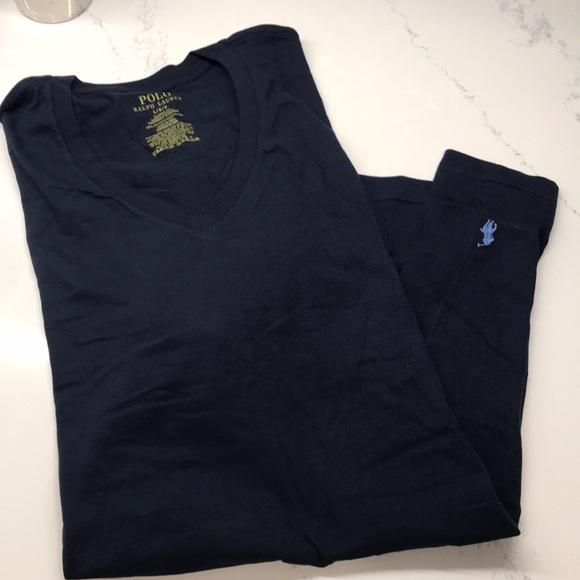 Lauren Shirt Fit Classic Neck Under New Ralph V QrBeCxdoW